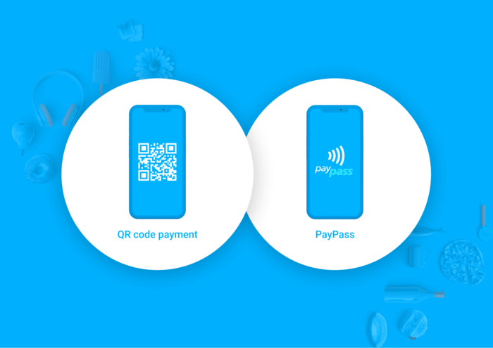qr code and paypass